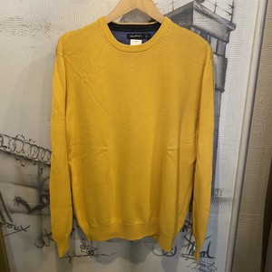 NAUTICA one point cotton knit