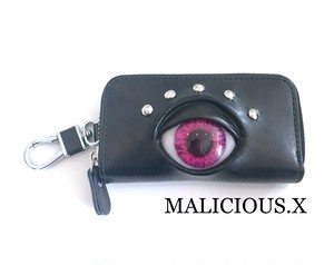 eye key case / pink