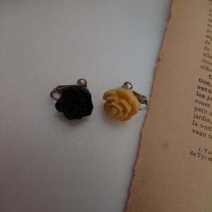 薔薇のイヤリング2