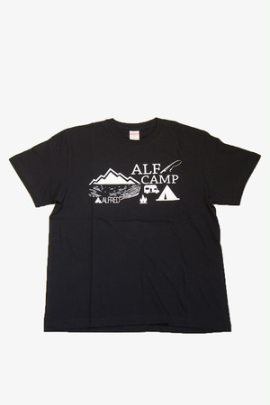ALF CAMP Tシャツ (ブラック)