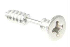ステンレスフェイクピアス/ネジ 片耳用 hcab025