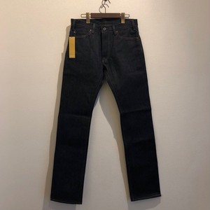 TIGHT STRAIGHT DENIM PANTS / RIGID (INDIGO) / GERUGA