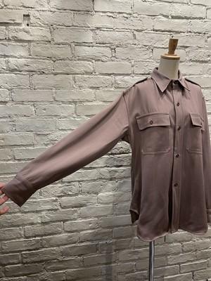 【ユニセックス】40年代〜 エポレット付きヴィンテージシャツ