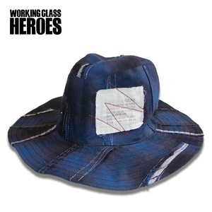 Working Class Heroes Bohemian Hat PW -Nel Blue