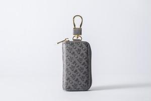 高知の財布風 キーケース 黒