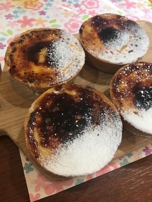 焼きたてチーズタルト4個入り(真空冷凍)