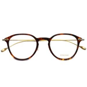 EYEVAN アイヴァン / BRYAN / TORT べっ甲柄-アンティークゴールド メガネ コンビネーションフレーム