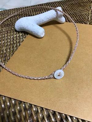 ワックスコードネックレス~45cm