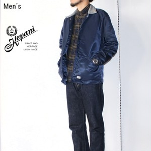 Kepani ナイロンコーチジャケット Nylon Jacket(Montclair) KP1804MF (NAVY) 【Men's】