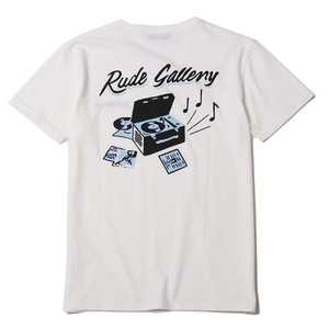 DEADLY DANCE PARTY TEE - CALLING (WHITE) /  RUDE GALLERY