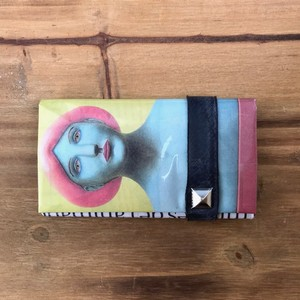 NEWSPAPER COIN CARD CASE アート