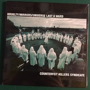 KRUELTY / Mirrors / universe last a ward (3way split CD)