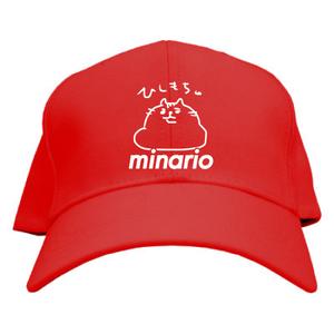minario / にゃんつー・ひしもち。 CAP RED