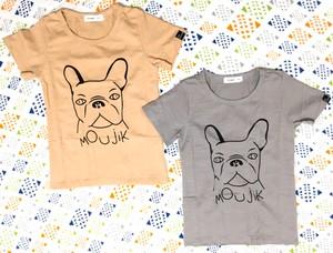 【送料無料】キッズ☆dogプリント半袖Tシャツ