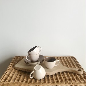 poole pottery デミタスカップ&ソーサー