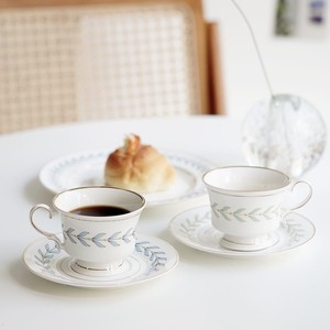 laurier tea cup 150ml 2colors / 韓国 レトロ ローリエ プレート