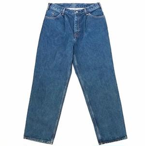 "LIVING CONCEPT ""tuck wide denim pants"""