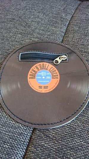 レコード型ポーチ/ROCK 'N' ROLL CIRCUS
