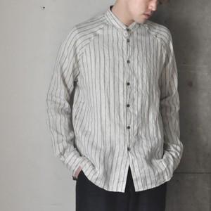 hihihi godet shirt -stripe-