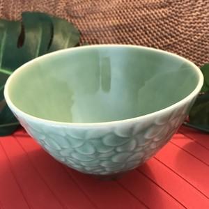 ジェンガラ・ケラミック 食器 中型ボール フランジパニ ミディアムボール FRANGIPANI Full Pattern Medium Bowl
