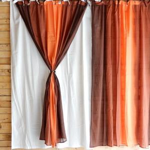 グラーデカーテン 100x180cm ブラウン