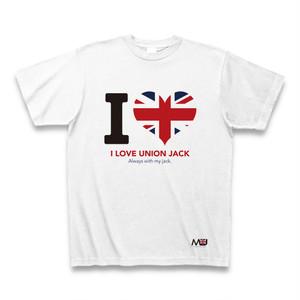 ユニオンジャックTシャツ-I LOVE-