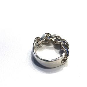 【Garden Of Eden】curb chain id ring