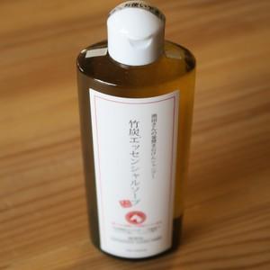 竹炭ソープ 自然素材エッセンシャルソープ〜竹炭・蒸留竹酢液配合〜