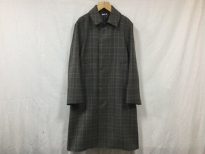 "LENO "" STAND FALL COLLAR COAT "" CHARCOAL"
