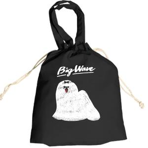 「BIG WAVE」巾着トートバッグ