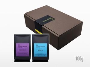 【ギフト】よりどりコーヒー豆2種 100gずつ