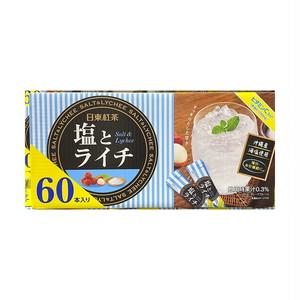 コストコ 日東紅茶 塩とライチ 60本 | Costco Nitto tea salt and lychee tea 60 sticks