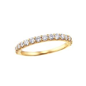K18YGダイヤモンドリング 010201008997