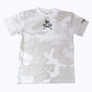 TUTCカモフラージュゲームシャツ ホワイト GS-002