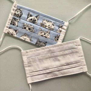 20s-014 オリジナルプリーツ布マスク