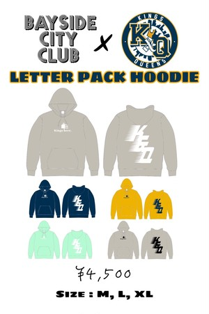 【Kings and Queens】Bayside City Club Collab Hoodie