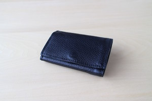 PLAY WALLET - LEATHER[DARK NAVY]