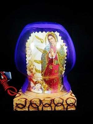 マリア ランプ飾り /グアダルーペ /置物 /インテリア/ カトリック /お守り
