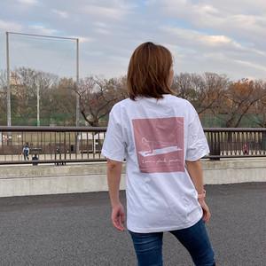 バックプリントTシャツ【I am a plank person.】
