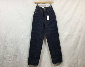 "LENO "" KAY  HIGH WAIST TAPERED JEANS <NON WASH> """