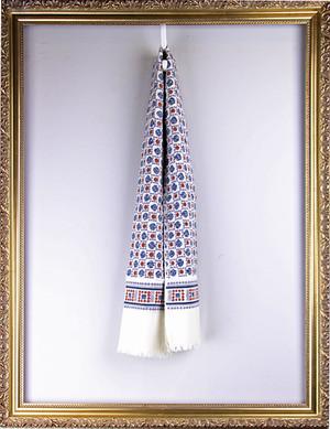Vintage Cotton Scarf ヴィンテージ 丸柄スカーフ