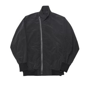 677BLM13-BLACK / カバードネックジャケット