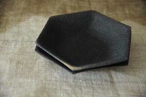 0749 フルカワゲンゴ 墨南蛮 六角鉢