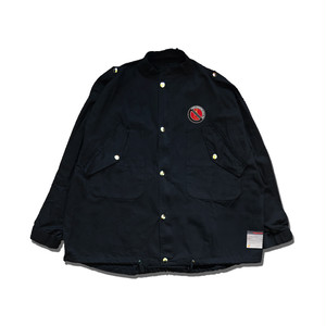 OVER WORKING MILITARY JACKET / BLACK