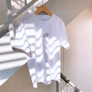 【EVERYDAY SUNDAY】モンモシンプルロゴ刺繍T