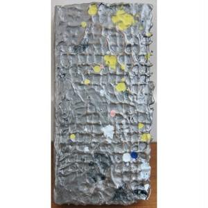 「無題」 廃材の木片にミクストメディア * アート作品 抽象画 絵画 内野隆文 takafumiuchino