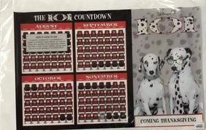 品番0068 ポスター 『THE 101 COUNTDOWN』 101匹わんちゃん カレンダー ディズニー アート