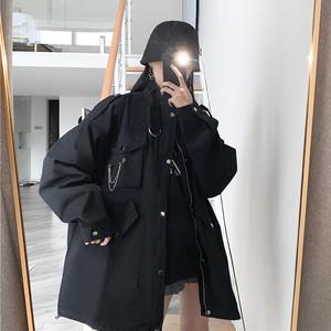 【アウター】秋冬厚くするイエローイエローストリート中綿コートジャケット24359574