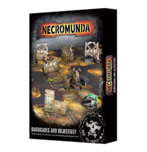 11/24発売 NECROMUNDA BARRICADES AND OBJECTIVES