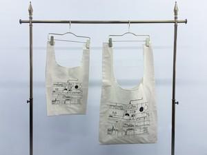 【sankara】Marche tote bag sizeM